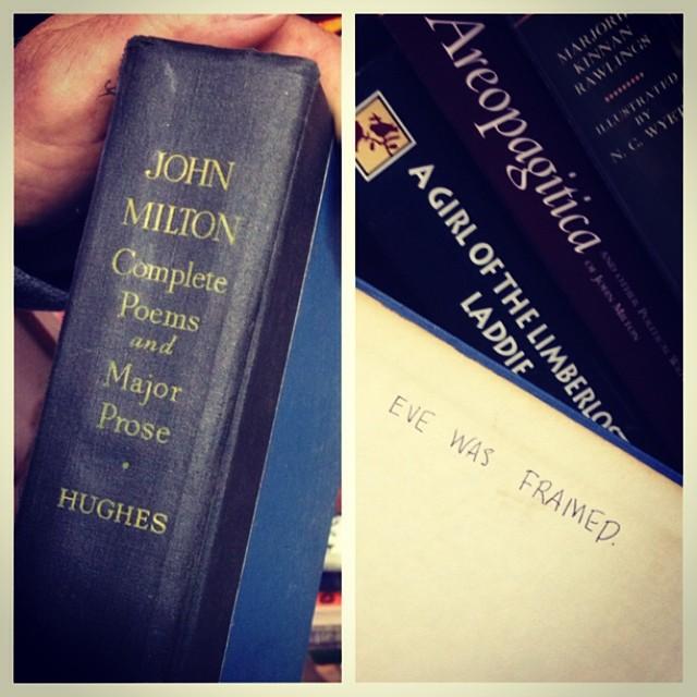 Milton book image blog
